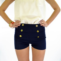 Portsmouth Navy Sailor Shorts