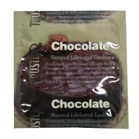 Trustex Chocolate Flavor Lubricated Condoms