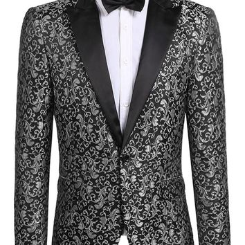 Black Tie Affair - Slim Fit Tuxedo Suit Jacket