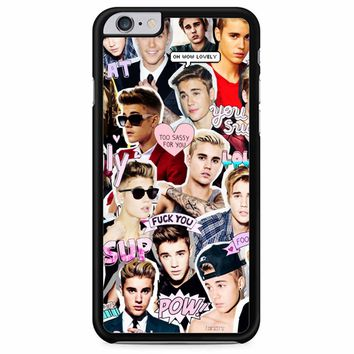 Justin Bieber Collage iPhone 6 Plus/ 6S Plus Case