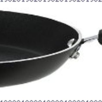 T-fal E9380884 Professional Total Nonstick Thermo-Spot Heat Indicator Oven Safe Dishwasher Safe PFOA Free Cookware Fry Pan / Saute Pan, 12-Inch, Black