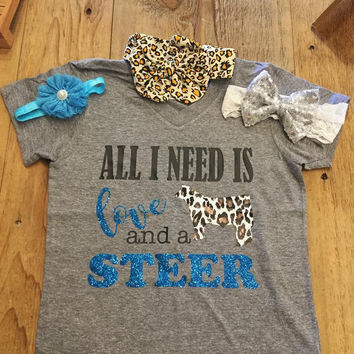 All I need is LOVE and a STEER