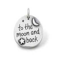 """""""To the Moon and Back"""" Charm   James Avery"""