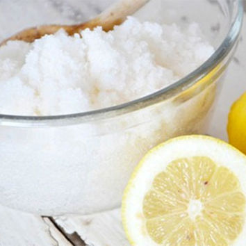 Organic Lemon Sugar Scrub - MUST HAVE SCRUB by Day Spa Magazine