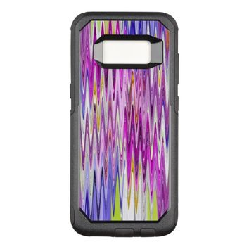 Colorful Abstract Background OtterBox Commuter Samsung Galaxy S8 Case