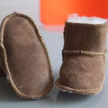 DCCK8X2 Uggs Inspired Baby Winter Boots