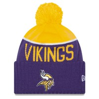 8a15894df16 Minnesota Vikings New Era 2015 NFL Official Sideline Sport Knit Hat. Minnesota  Vikings New Era Sport Knit Winter Hat