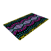 "Pom Graphic Design ""Tribal Dominance"" Woven Area Rug"