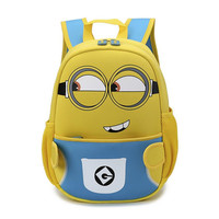 kindergarten backpack minions bags for boys children backpacks cartoon bag despicable me small bags for gift kids school bag
