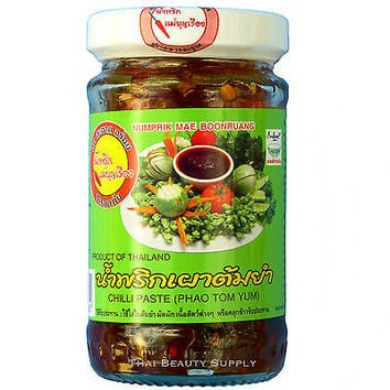 Numprik Mae Boonruang Chili Chilli Paste Phao Tom Yum 100g 3.5oz