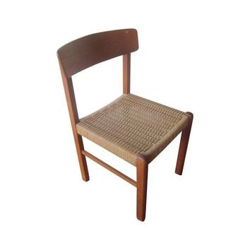Pre-owned Poul Volther Danish Modern Teak Desk Chair