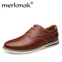 Large Size 47 Brand Design Men Shoes Genuine Leather Mens Casual Shoes Luxury Spring Formal Dress Flats Oxfords Office Hot Sale