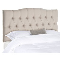 Safavieh Axel Tufted Headboard (Brown)