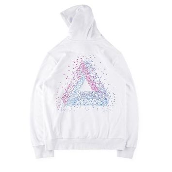 Hoodies Hats Pullover 6-color Print Cotton Jacket [11412550215]
