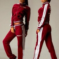 Fitness Outerdoor Sportwear tracksuits sportswear women hoodies sweat 2016 fashion jogging suit for women sweatsuit I