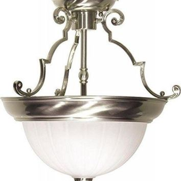 "Nuvo 76-433 - 13"" Close-To-Ceiling Semi Flush Ceiling Lights"