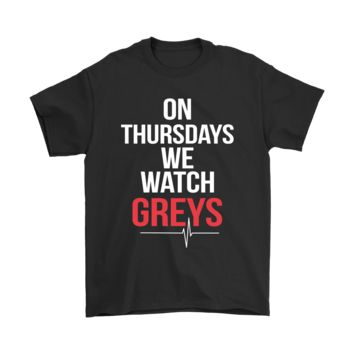PEAPCV3 On Thursdays We Watch Greys Anatomy Shirts