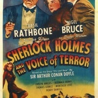 Sherlock Holmes and the Voice of Terror 27x40 Movie Poster (1942)