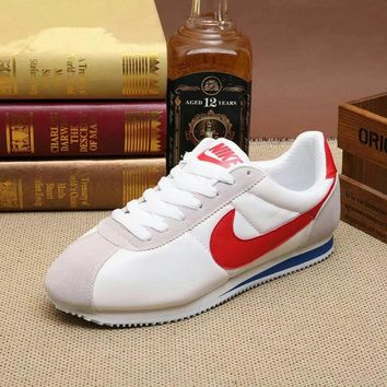 """Nike Cortez"" Classic Unisex Casual Leather Running Shoes Couple Retro Fashion Sneakers"