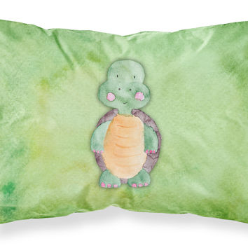 Turtle Watercolor Fabric Standard Pillowcase BB7382PILLOWCASE