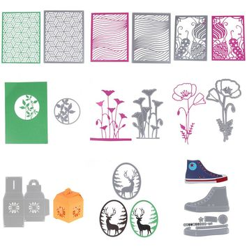 New 23 Design Customized Cutting Dies Metal Scrapbooking Embossing Stencil Die Craft For DIY Cards Album Book Decoration