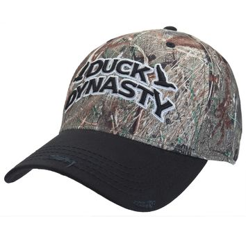 Duck Dynasty - Logo Mossy Oak Camo Adjustable Cap