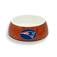 GameWear New England Patriots Pet Bowl (Brown)