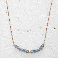 Faux Gemstone Beaded Necklace