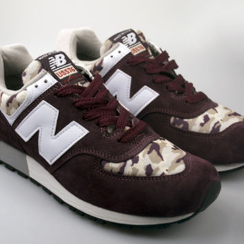 New Balance MADE IN USA® US576CM4 - Burgundy/Camo