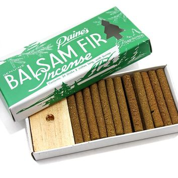 Paine's Balsam Fir Incense Sticks