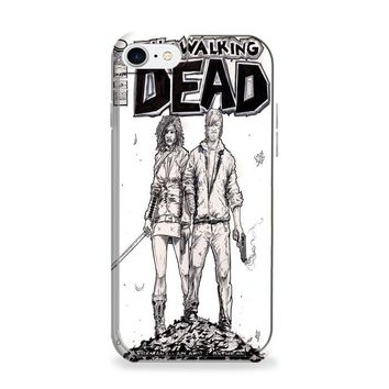 Walking Dead (michonne comics bw) iPhone 6 | iPhone 6S Case