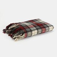 Vintage Pendleton Tartan Plaid Wool Blanket