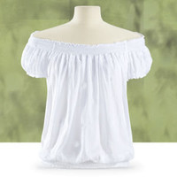 Giselle Embroidered Top                            - New Age, Spiritual Gifts, Yoga, Wicca, Gothic, Reiki, Celtic, Crystal, Tarot at Pyramid Collection