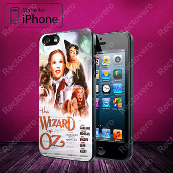 Wizard of Oz Movie Poster case for iPhone 5, 5S, 5C, 4, 4S and Samsung Galaxy S3, S4