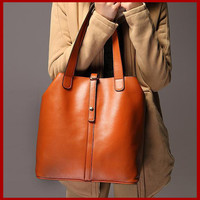 Messenger Bags with Genuine Leather