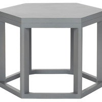 Lenora End Table, Gray, Standard Side Tables