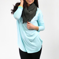Breathe Easy Top - Lt. Blue