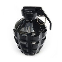 A Love Grenade Piggy Bank Creative Black Ceraimc Piggy Bank, Unique Design Gift Idea - $32.00 - GSelect - Gifts for Men. Unique, Cool Gift Ideas and Presents