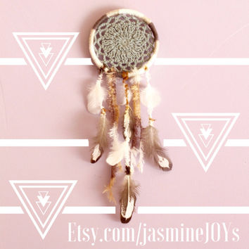 Natural Earth Tones Car Size Dream Catcher/ Dreamcatcher