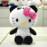 "Hello Kitty 8"" Plushie: Panda"