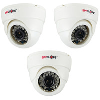 Spyclops Ccd Plastic Mini Dome Camera (white)