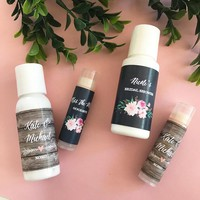 Personalized Floral Garden Sunscreen (Set of 24)
