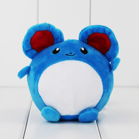 "4"" 10cm Pokemon Marill Plush Toy Soft Stuffed Animals Toy Dolls for Children"