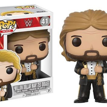 WWE Mill Dollar Man Old School POP! Vinyl Figure