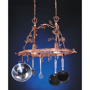Kalco Lighting 5038PD Ponderosa Pot Rack
