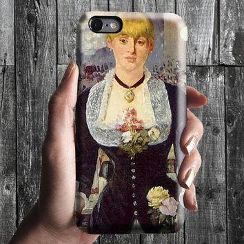 Bar at the Folies-Bergere Edouard Manet iPhone Case 6, 6S, 6 Plus, 4S, 5S. Phone Cell. Art Painting. Gift Idea Anniversary. Gift for him/her