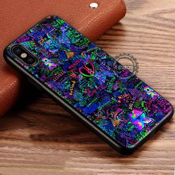 Coldplay Mylo Xyloto Live Graffiti iPhone X 8 7 Plus 6s Cases Samsung Galaxy S8 Plus S7 edge NOTE 8 Covers #iphoneX #SamsungS8