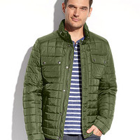 Tommy Hilfiger Jacket, Quilted Utility Jacket