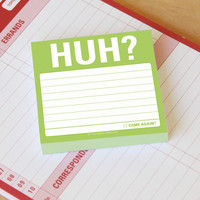 Knock Knock Huh? Sticky Notes | Free Shipping $35+