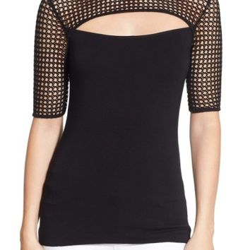Bailey 44 'Northern Circuit' Mesh Cutout Top | Nordstrom